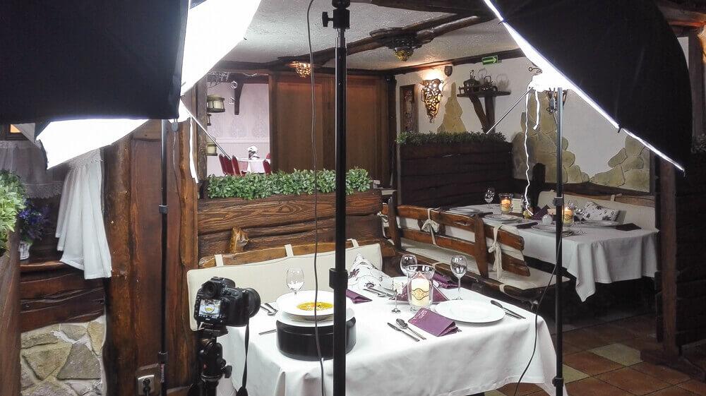 nagrywanie potraw 006 - VLOG #2 | Klimtówka | Sesja zdjęciowa VideoMenu